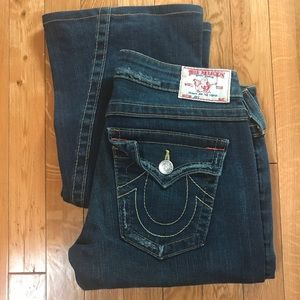 Beautiful Dark Denim True Religion Jeans